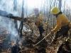 Tekoa Mountain brush fire, Westfield, Massachusetts