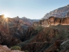 View from the Devil's Corkscrew section of the Bright Angel Trail, Grand Canyon National Park