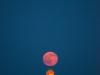 Moonrise over the Naismith Memorial Basketball Hall of Fame, Springfield, Massachusetts